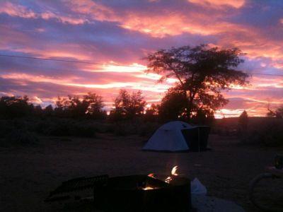 Camping at Page
