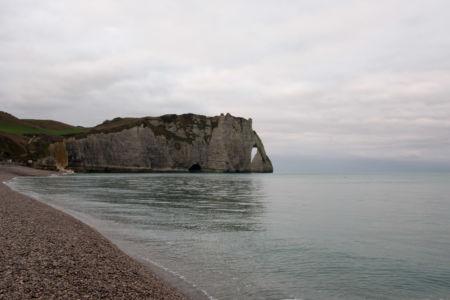 Etretat Cliffs And Beach