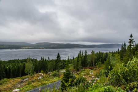 Ausblick auf den Kallsjön