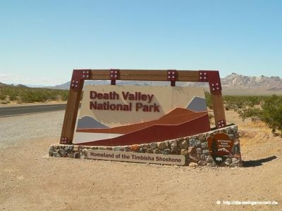 Las Vegas – Death Valley – Bishop