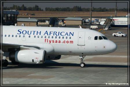 Frankfurt – Johannesburg – Windhoek